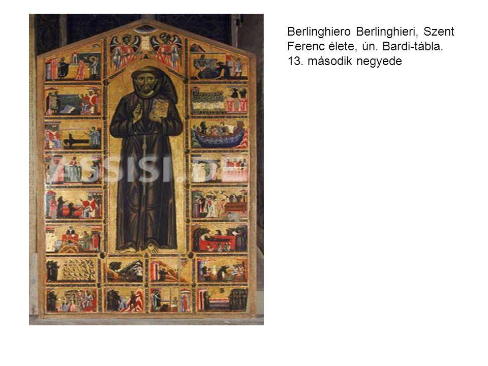 Berlinghiero Berlinghieri, Szent Ferenc élete, ún. Bardi-tábla. 13