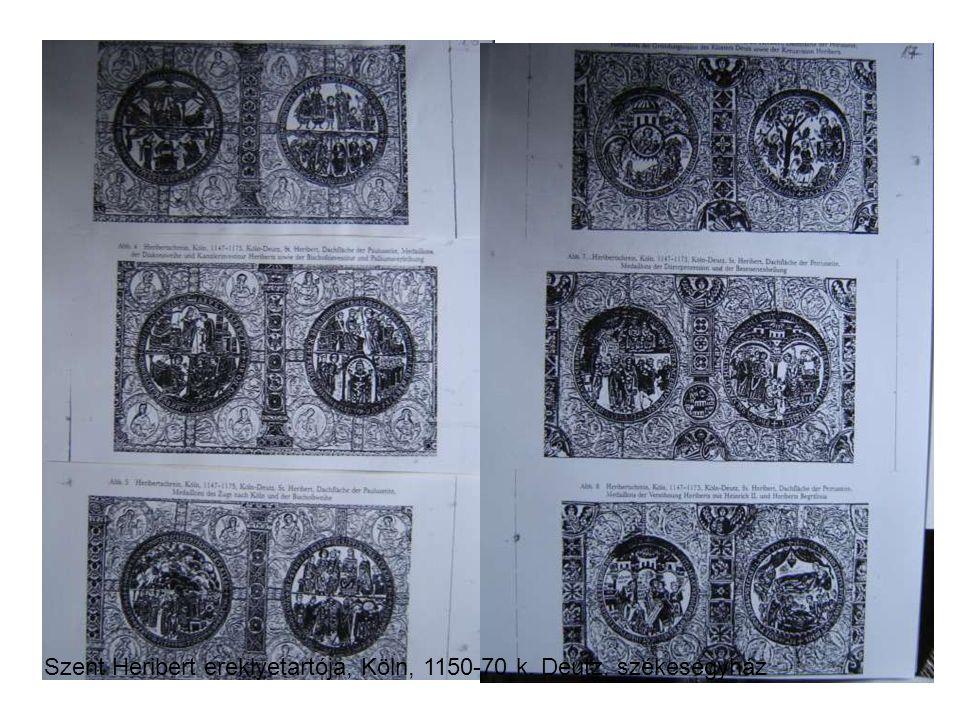 Szent Heribert ereklyetartója, Köln, 1150-70 k. Deutz, székesegyház
