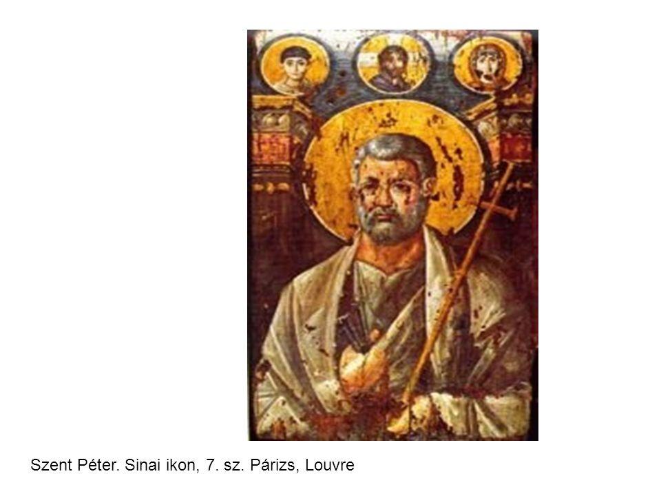 Szent Péter. Sinai ikon, 7. sz. Párizs, Louvre