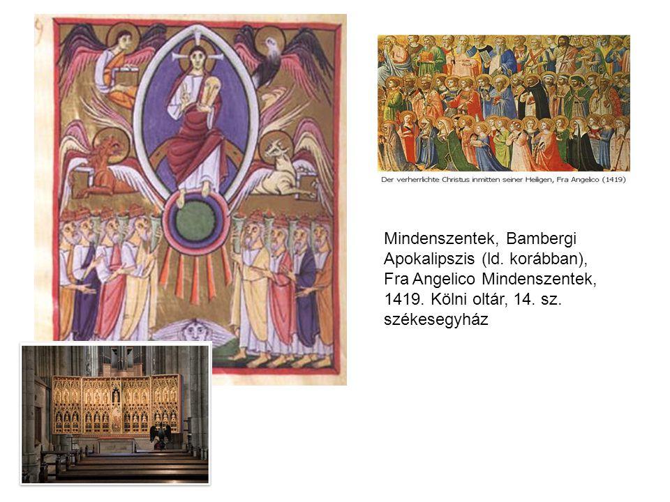 Mindenszentek, Bambergi Apokalipszis (ld