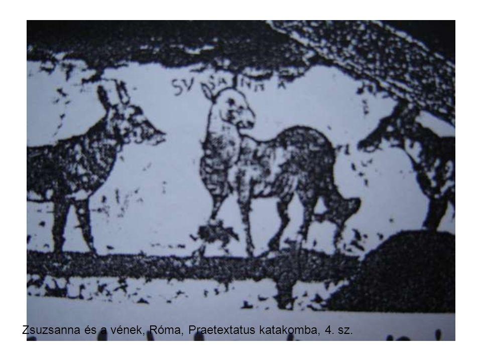 Zsuzsanna és a vének, Róma, Praetextatus katakomba, 4. sz.