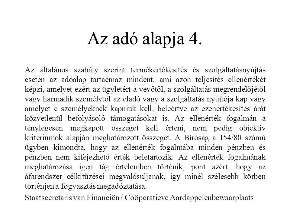 Az adó alapja 4.