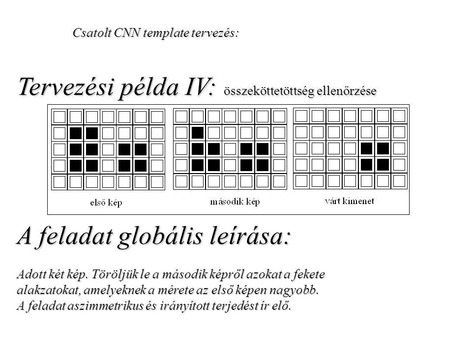 Tervezési példa IV: összeköttetöttség ellenőrzése