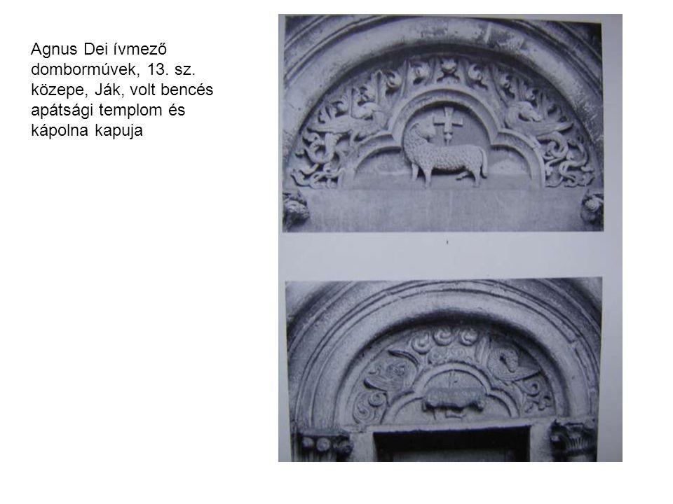Agnus Dei ívmező dombormúvek, 13. sz