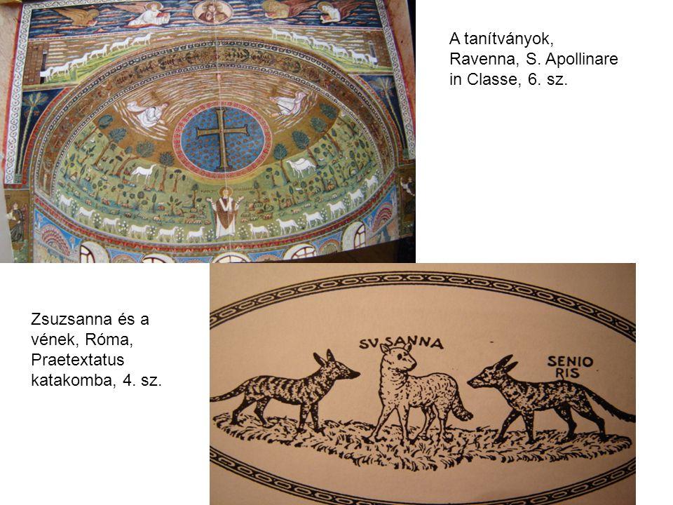 A tanítványok, Ravenna, S. Apollinare in Classe, 6. sz.
