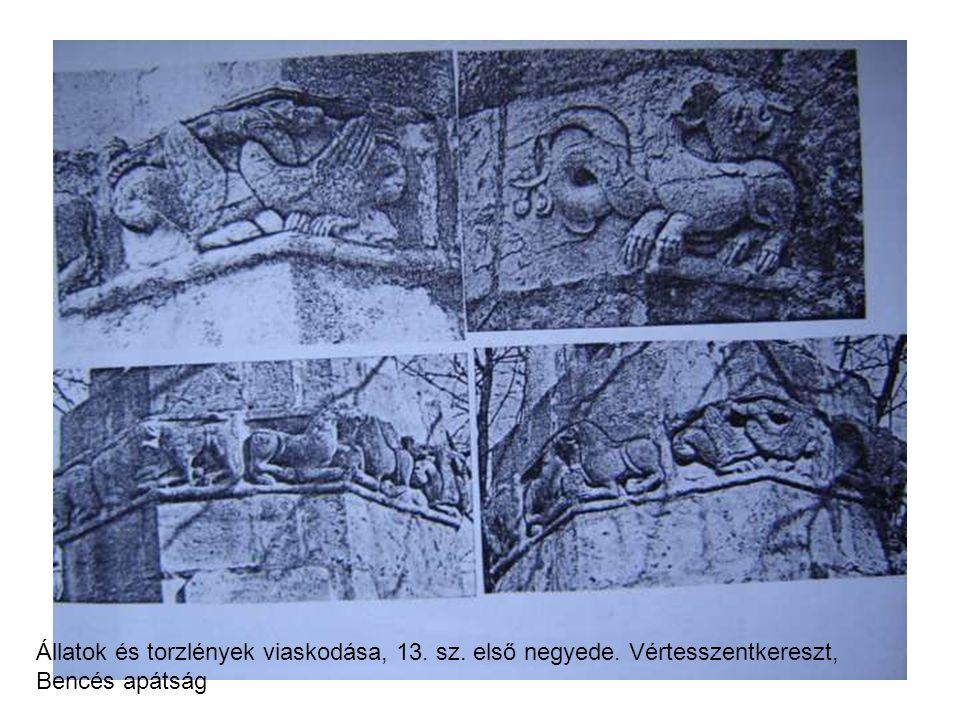 Állatok és torzlények viaskodása, 13. sz. első negyede