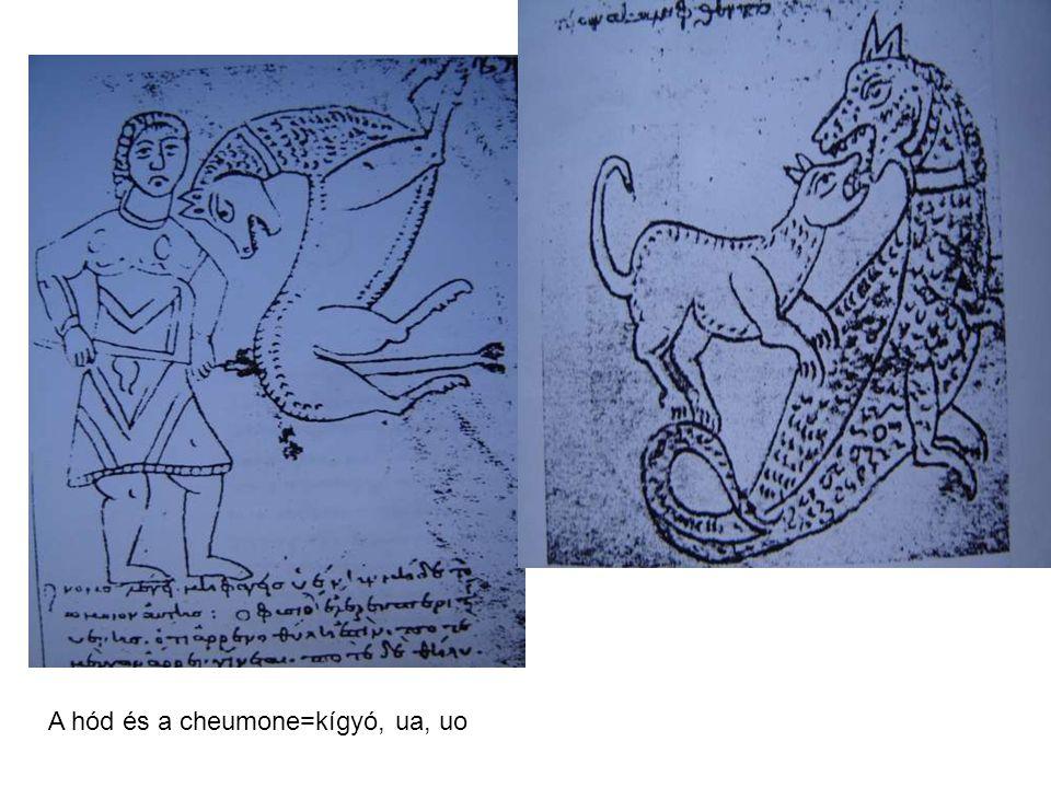 A hód és a cheumone=kígyó, ua, uo