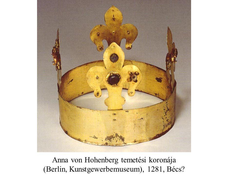 Anna von Hohenberg temetési koronája