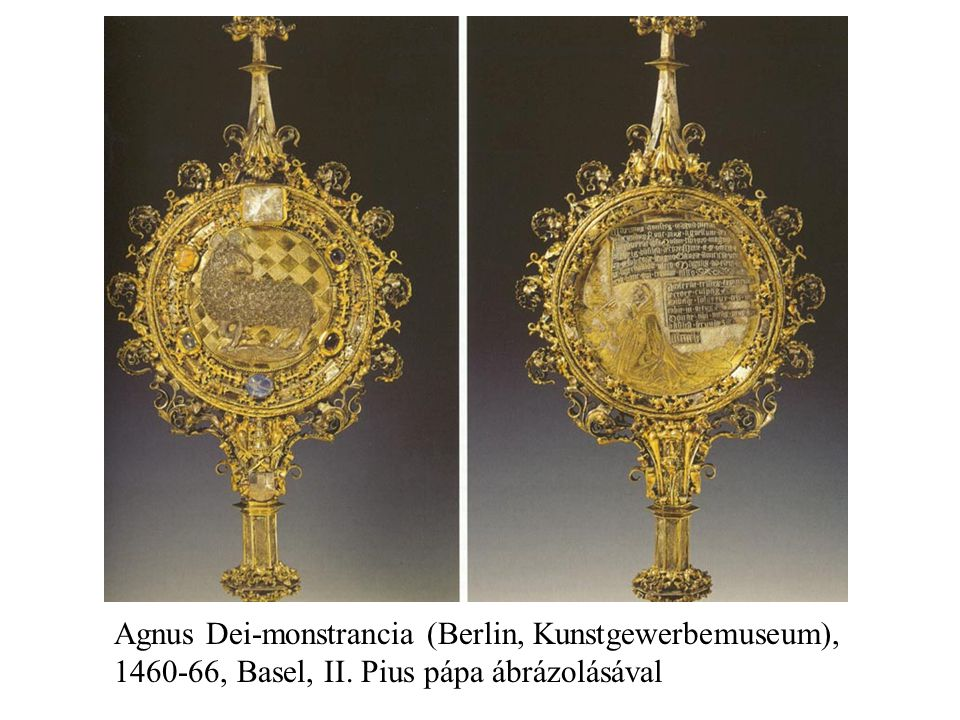 Agnus Dei-monstrancia (Berlin, Kunstgewerbemuseum),