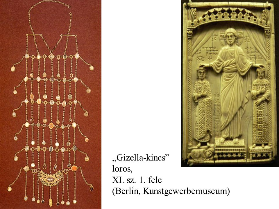 """Gizella-kincs loros, XI. sz. 1. fele (Berlin, Kunstgewerbemuseum)"