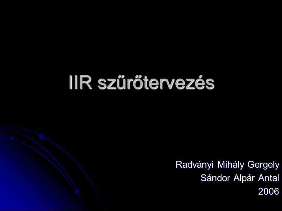 Radványi Mihály Gergely Sándor Alpár Antal 2006