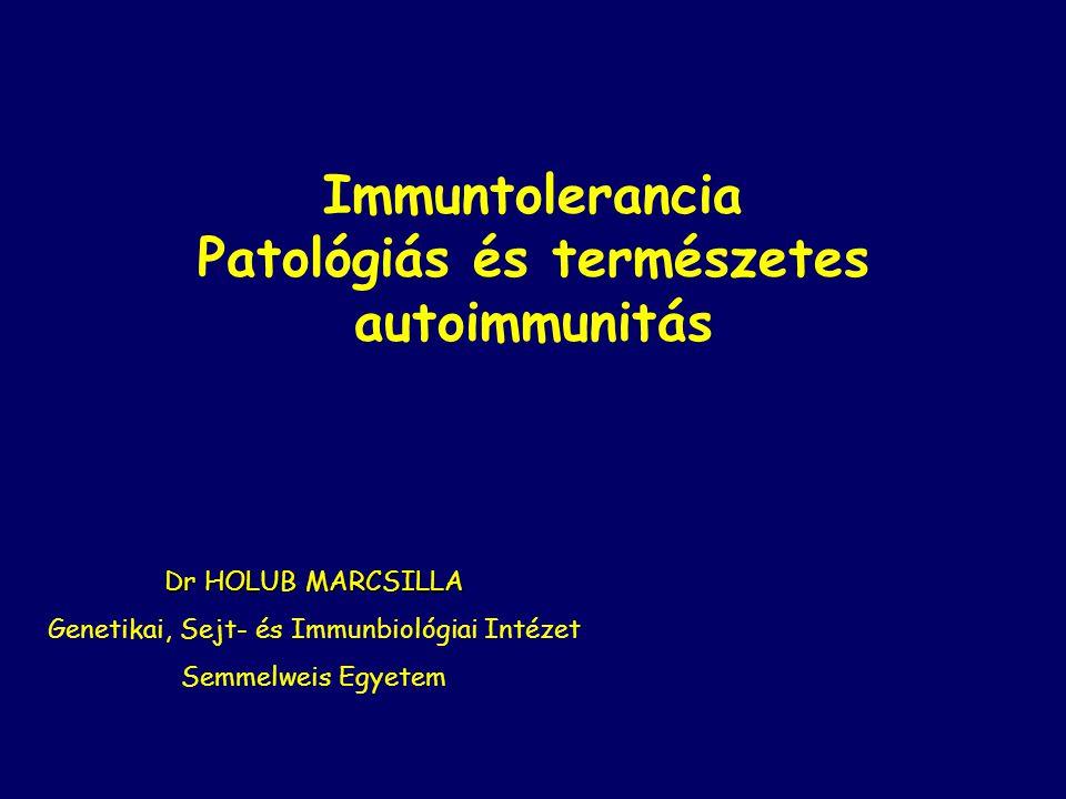 Patológiás és természetes autoimmunitás