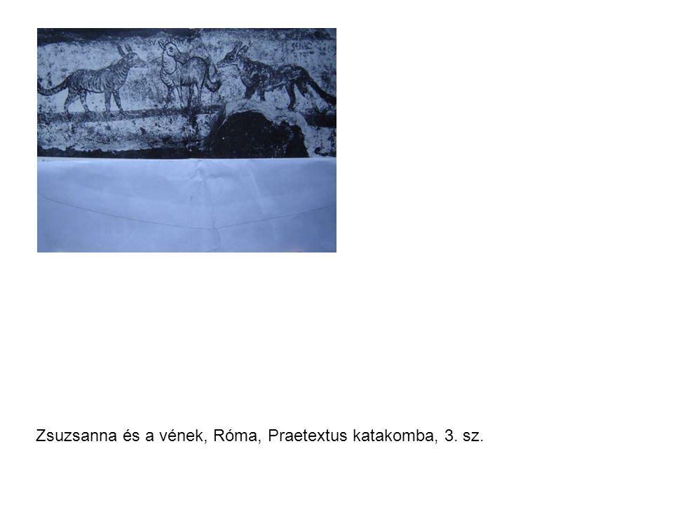 Zsuzsanna és a vének, Róma, Praetextus katakomba, 3. sz.