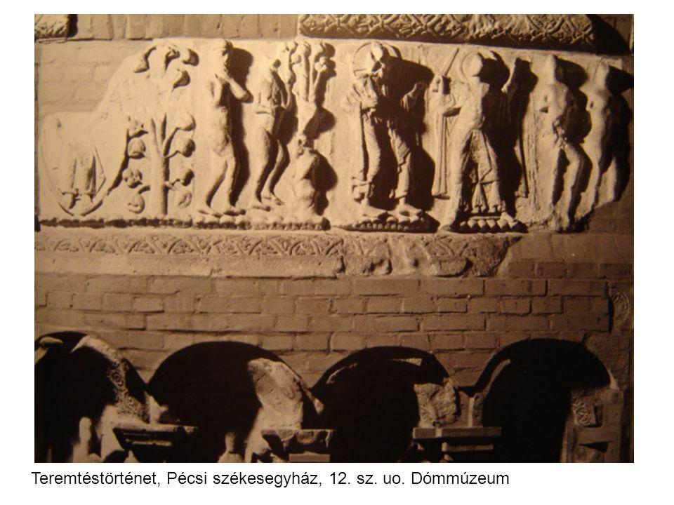Teremtéstörténet, Pécsi székesegyház, 12. sz. uo. Dómmúzeum