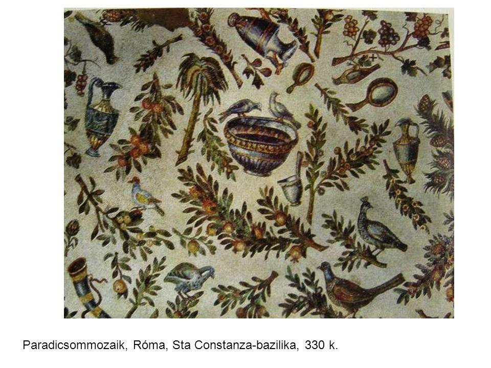 Paradicsommozaik, Róma, Sta Constanza-bazilika, 330 k.
