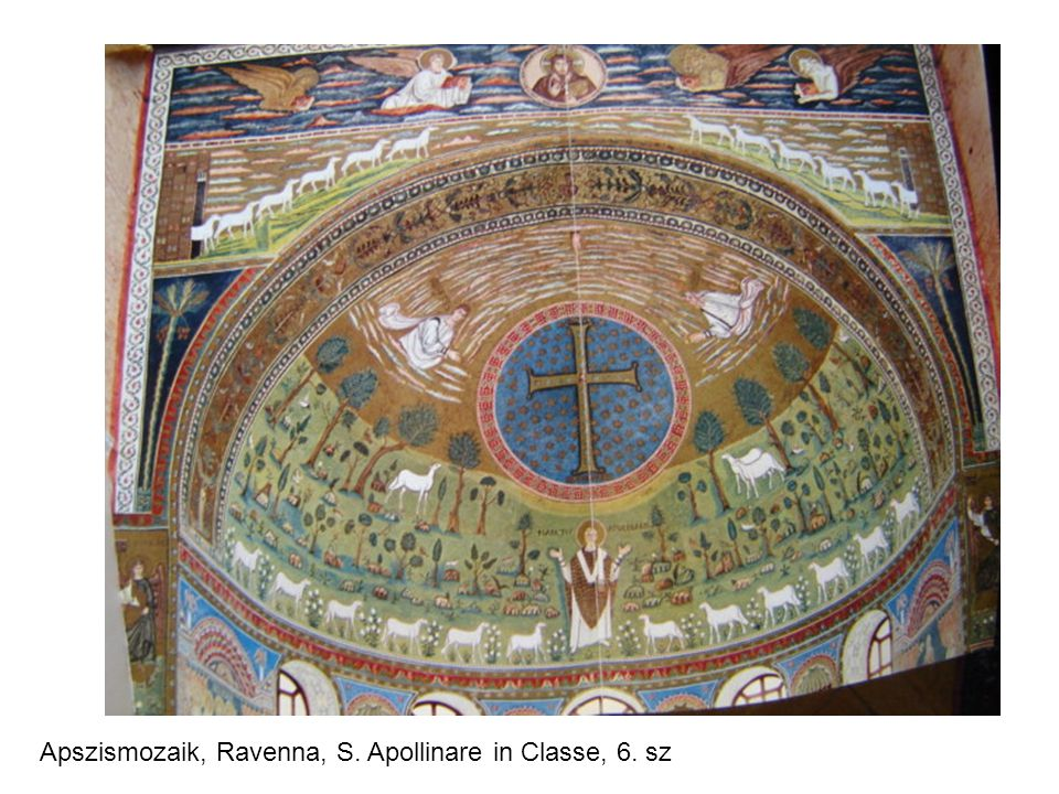 Apszismozaik, Ravenna, S. Apollinare in Classe, 6. sz