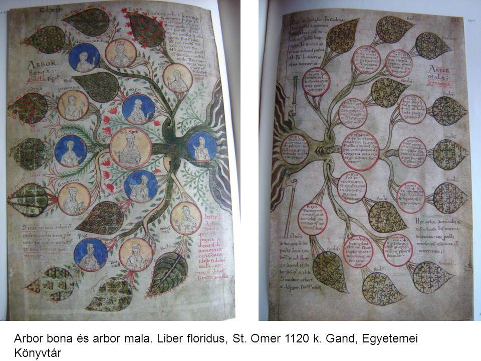 Arbor bona és arbor mala. Liber floridus, St. Omer 1120 k