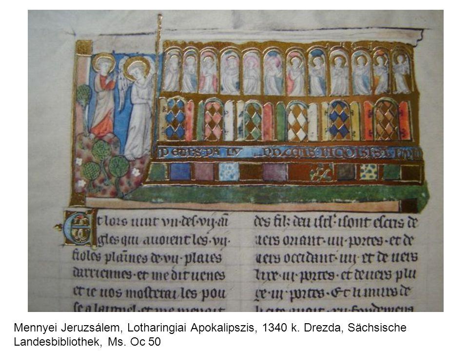 Mennyei Jeruzsálem, Lotharingiai Apokalipszis, 1340 k