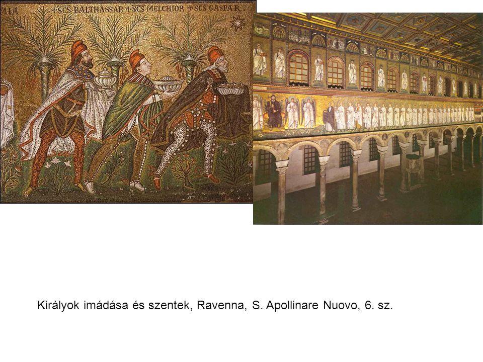 Királyok imádása és szentek, Ravenna, S. Apollinare Nuovo, 6. sz.
