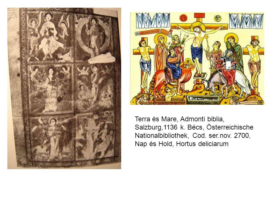 Terra és Mare, Admonti biblia, Salzburg,1136 k