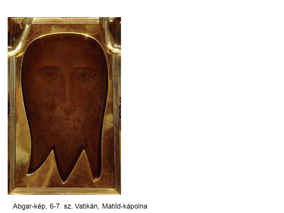 Abgar-kép, 6-7. sz. Vatikán, Matild-kápolna