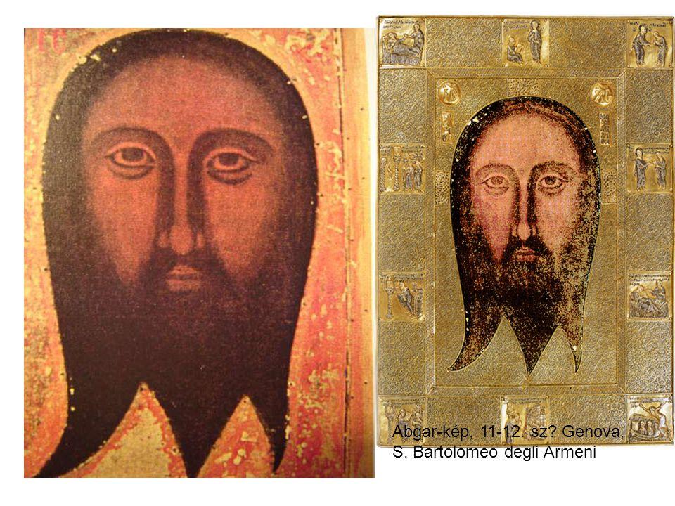 Abgar-kép, 11-12. sz Genova, S. Bartolomeo degli Armeni