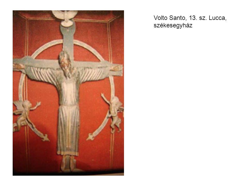 Volto Santo, 13. sz. Lucca, székesegyház