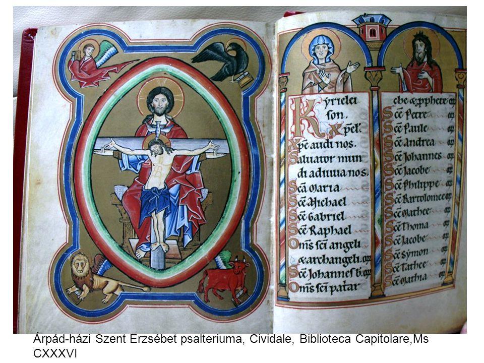 Árpád-házi Szent Erzsébet psalteriuma, Cividale, Biblioteca Capitolare,Ms CXXXVI