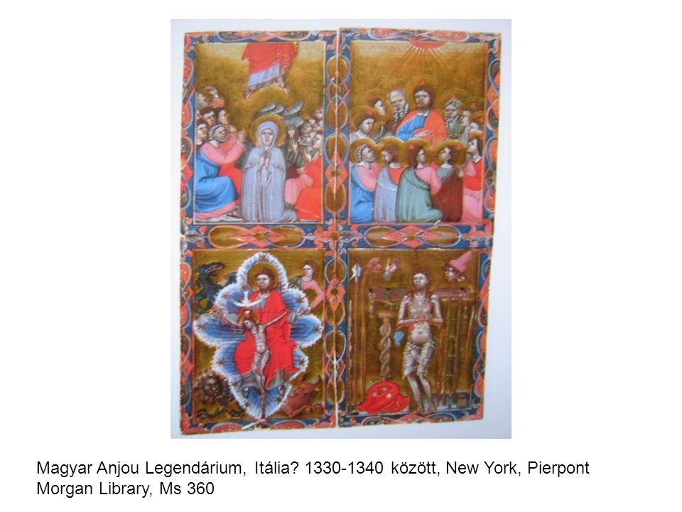 Magyar Anjou Legendárium, Itália