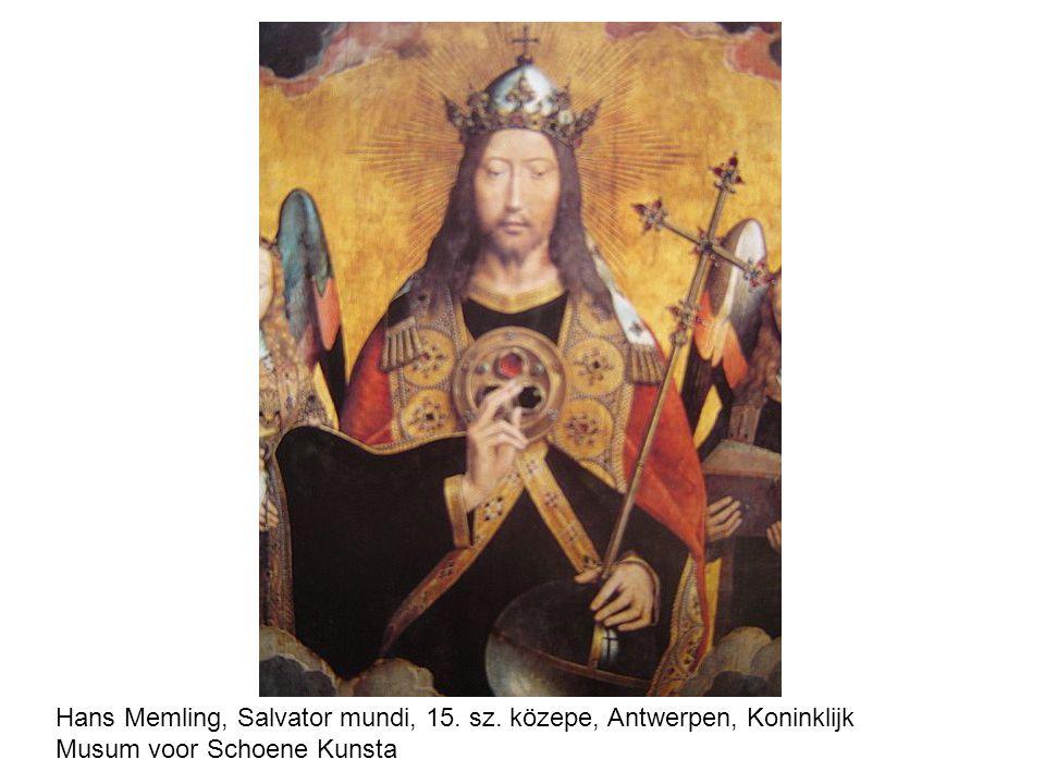 Hans Memling, Salvator mundi, 15. sz