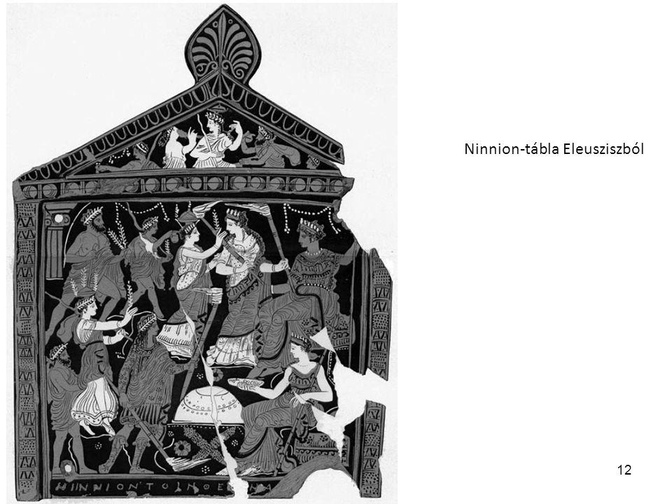 Ninnion-tábla Eleusziszból