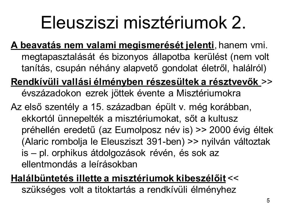 Eleusziszi misztériumok 2.