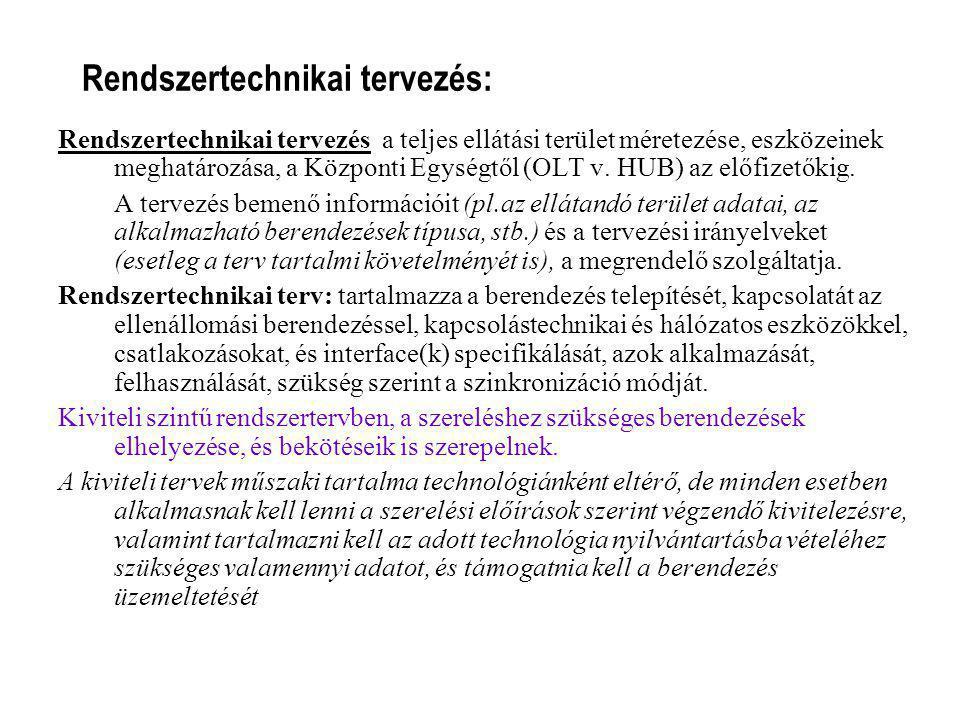 Rendszertechnikai tervezés: