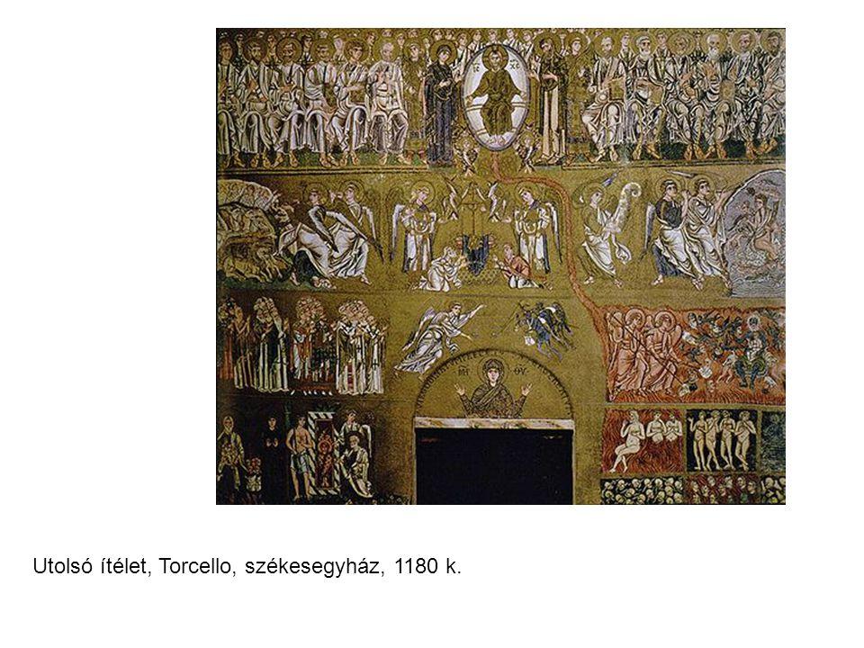 Utolsó ítélet, Torcello, székesegyház, 1180 k.