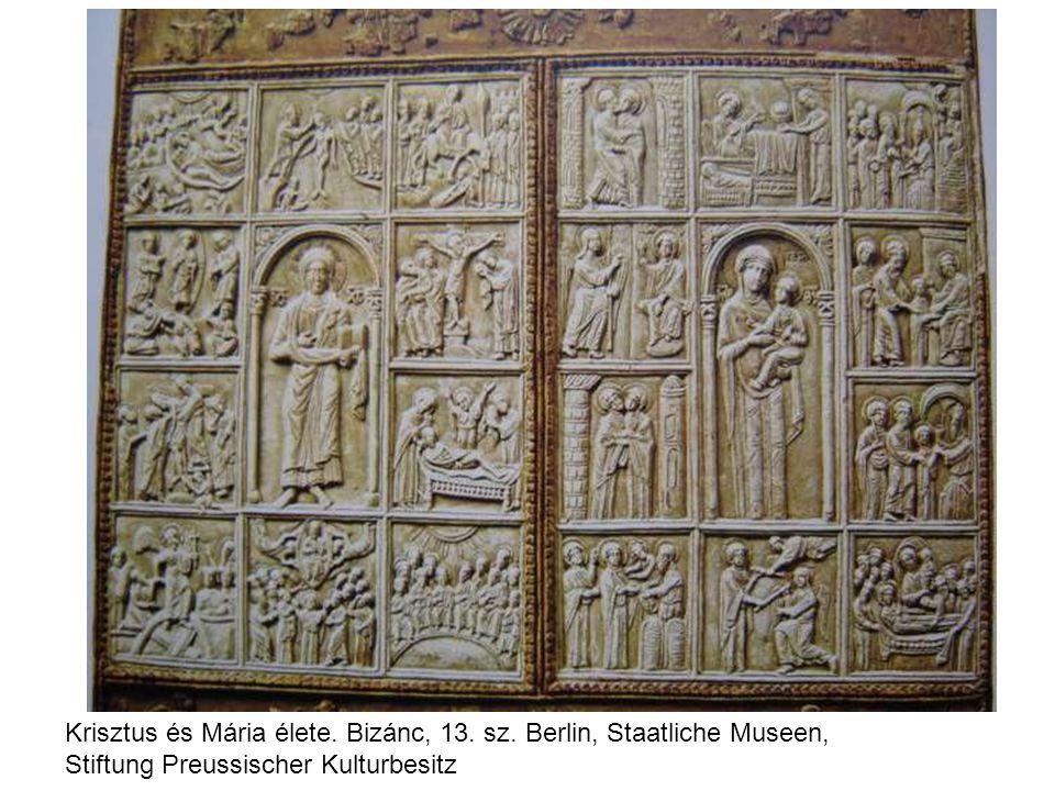 Krisztus és Mária élete. Bizánc, 13. sz