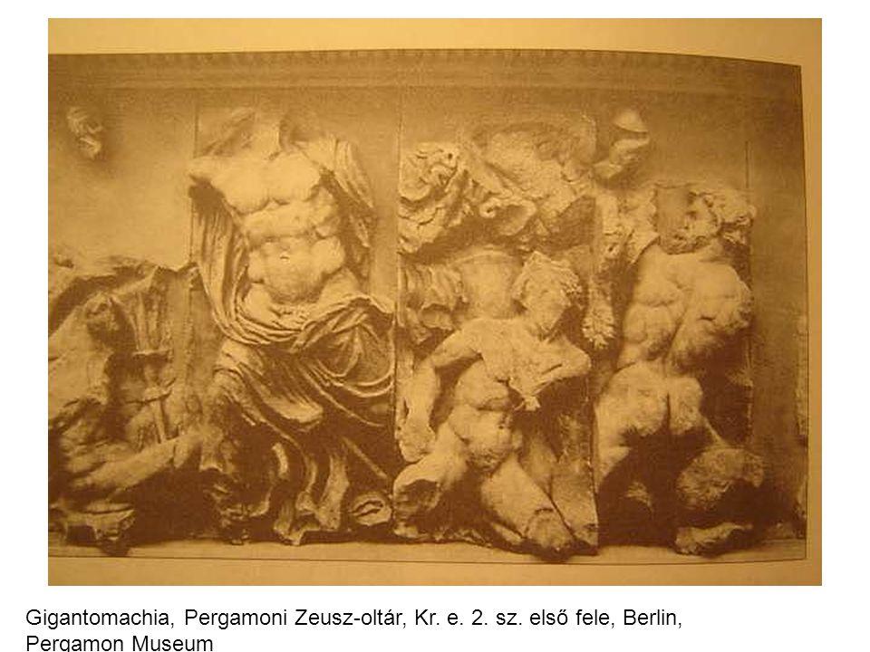 Gigantomachia, Pergamoni Zeusz-oltár, Kr. e. 2. sz
