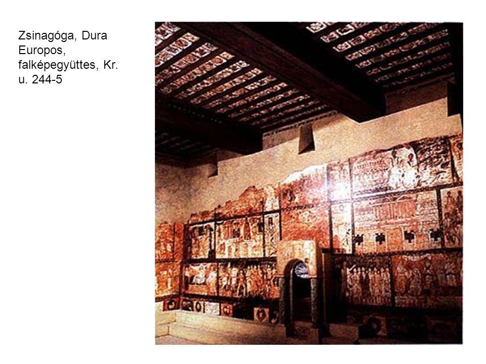 Zsinagóga, Dura Europos, falképegyüttes, Kr. u. 244-5