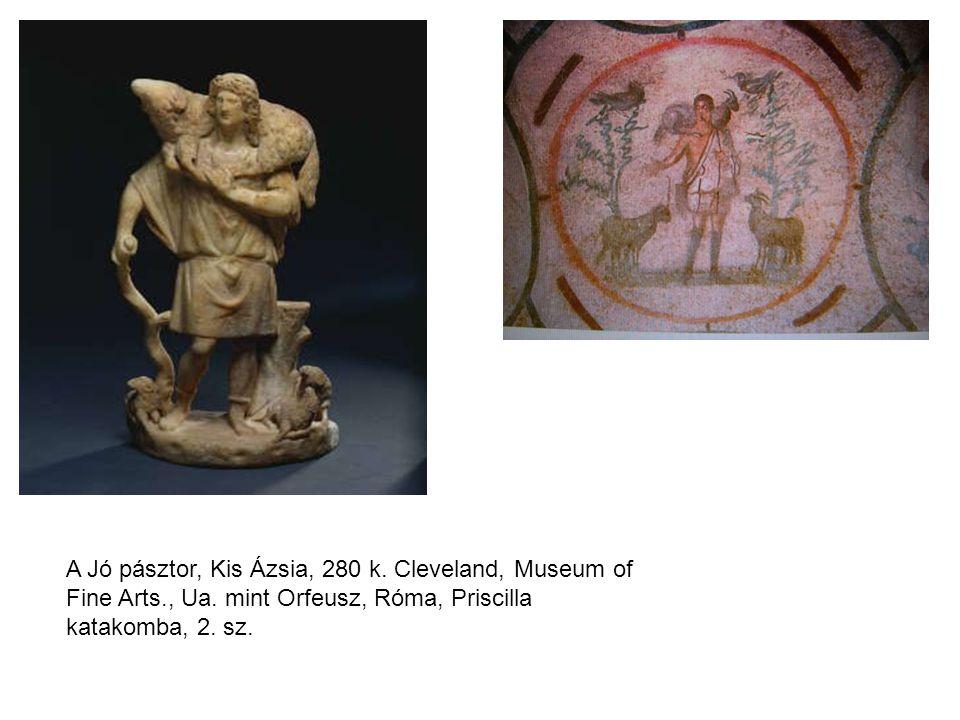 A Jó pásztor, Kis Ázsia, 280 k. Cleveland, Museum of Fine Arts. , Ua