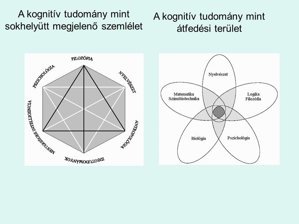 A kognitív tudomány mint sokhelyütt megjelenő szemlélet