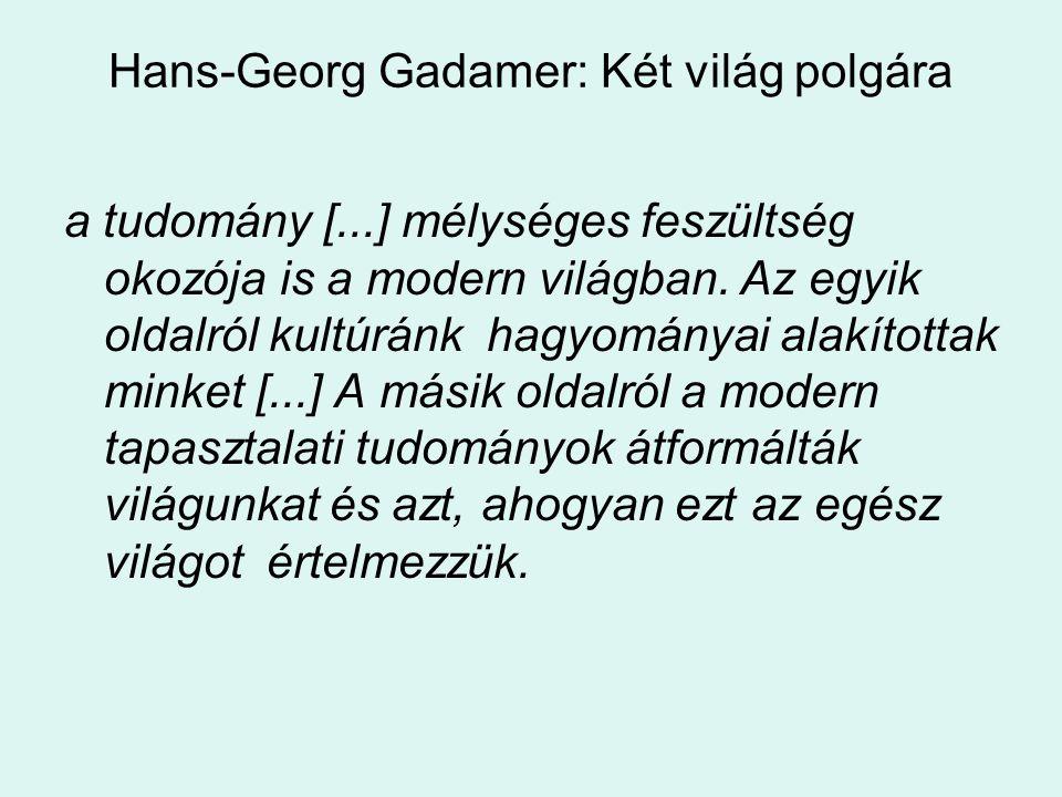 Hans-Georg Gadamer: Két világ polgára