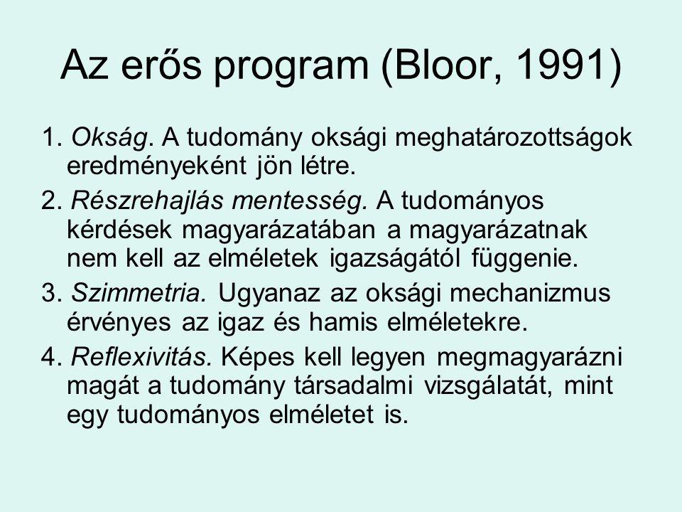 Az erős program (Bloor, 1991)