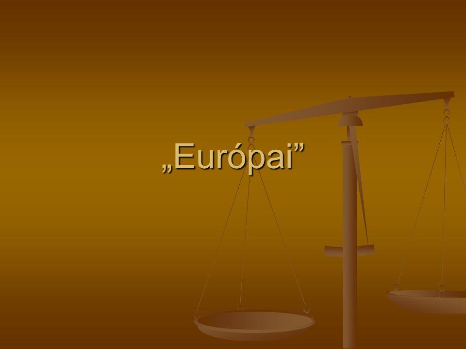 """""""Európai"""