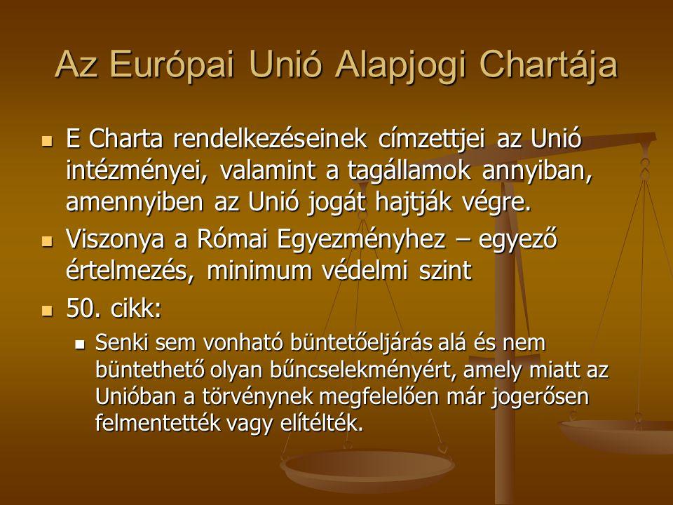 Az Európai Unió Alapjogi Chartája