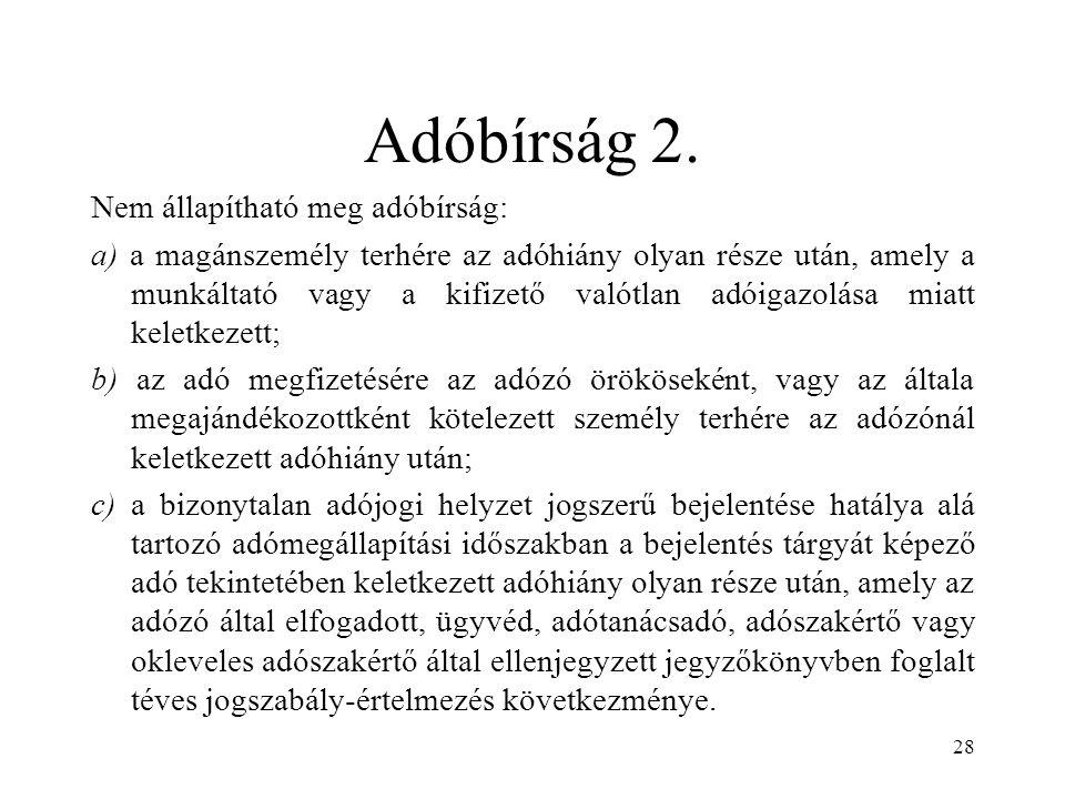 Adóbírság 2.