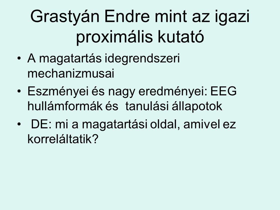 Grastyán Endre mint az igazi proximális kutató
