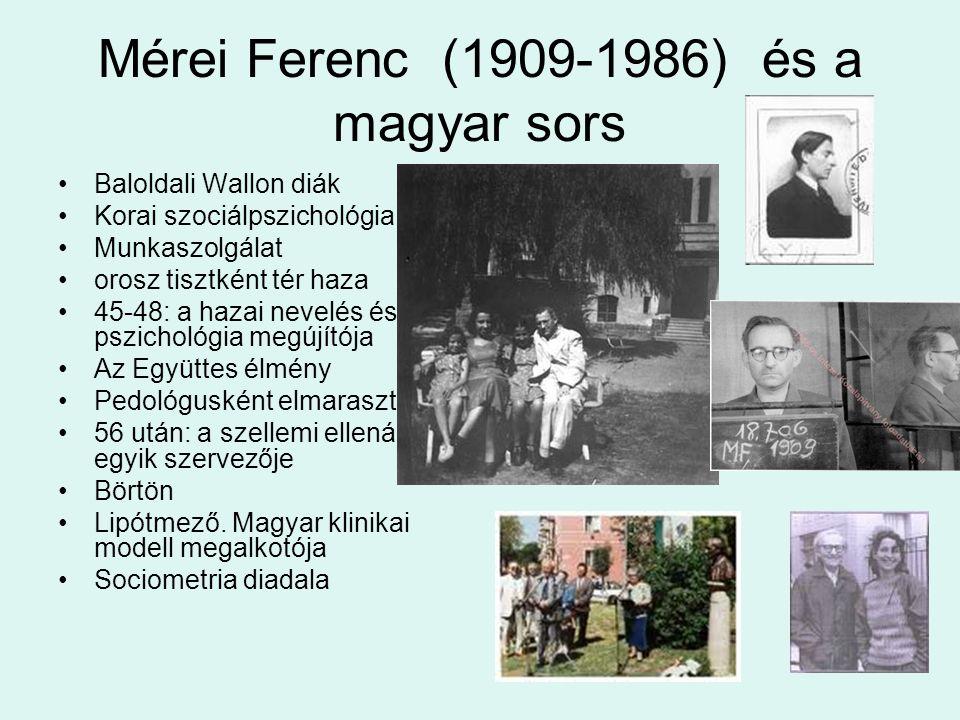 Mérei Ferenc (1909-1986) és a magyar sors