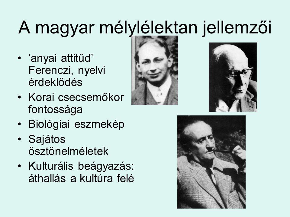 A magyar mélylélektan jellemzői