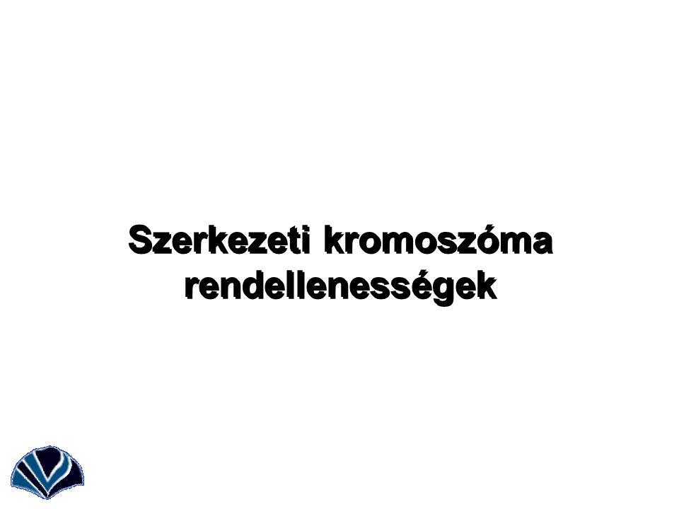 Szerkezeti kromoszóma rendellenességek