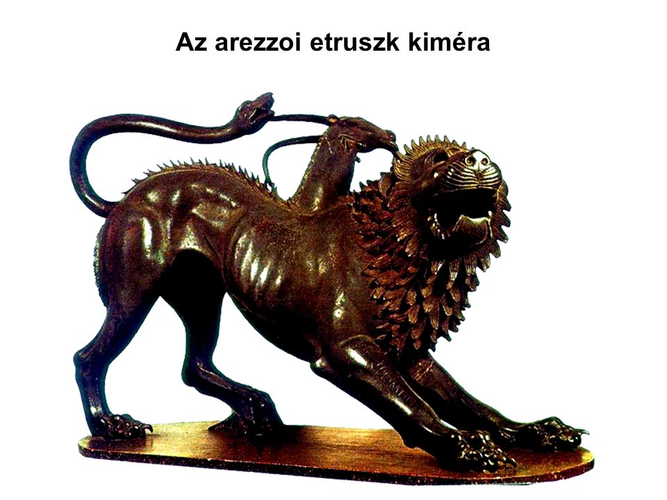 Az arezzoi etruszk kiméra