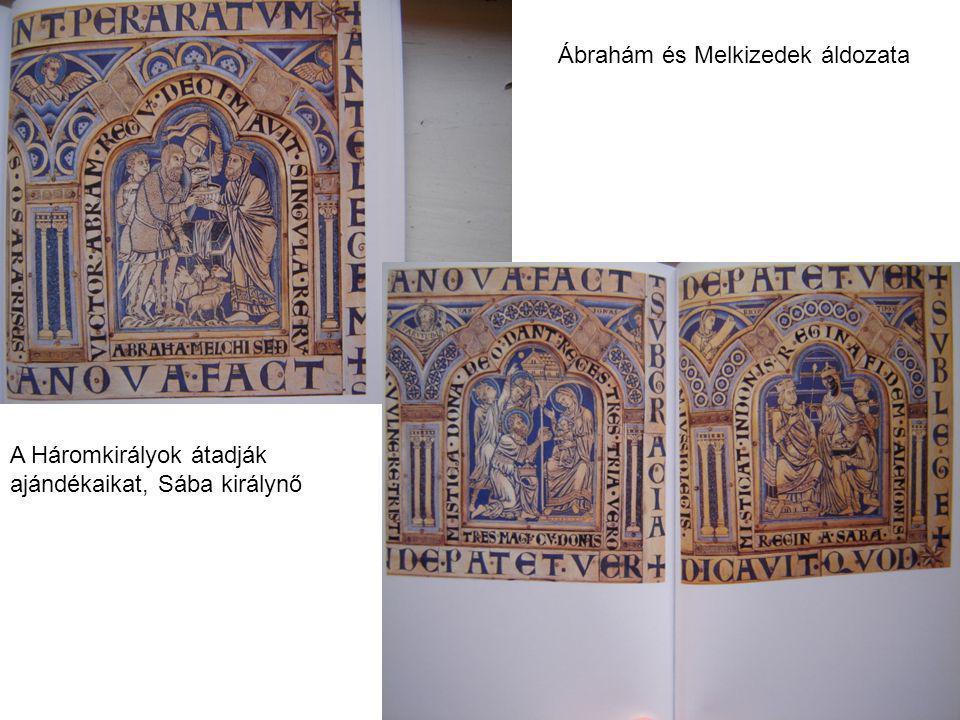 Ábrahám és Melkizedek áldozata